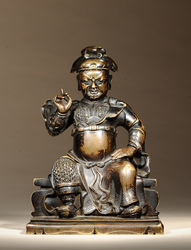 Guan Yu (Chinese Deity): (Seated Posture)