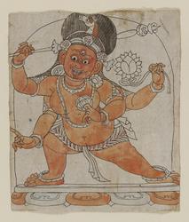 Hayagriva (Buddhist Deity): Red (4 hands)