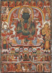 Amoghasiddhi Buddha: (Sarvadurgati Tantra)