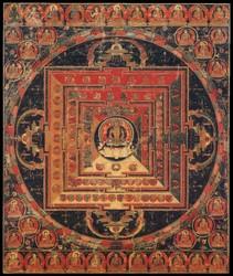 Vairochana Buddha: (Abhisambodhi Tantra)