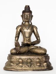 Akshobhya Buddha: (Peaceful Appearance)