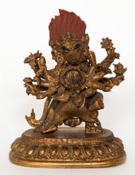 Vajrabhairava (Buddhist Deity): (Retinue Figure)