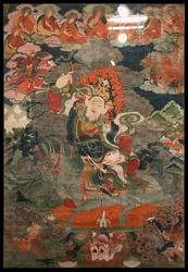 Achi Chokyi Drolma: (Riding a Horse)