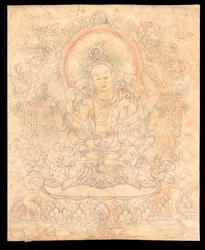 Prajnaparamita (Buddhist Deity): Yellow (4 hands)