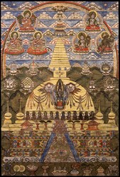 Stupa (Buddhist Reliquary): Baudhanath