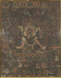 Mahakala (Buddhist Protector): 'Northern Treasure' (Jangter)