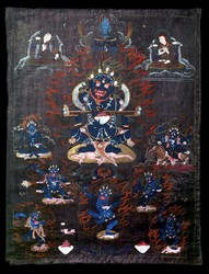 Mahakala (Buddhist Protector): Panjarnata (Lord of the Pavilion)