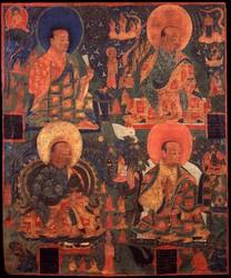 Arhat/Sthavira (Buddhist Elder): 16 Elders: Vajriputra