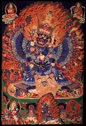 Vajrabhairava (Buddhist Deity): Solitary (Ekavira)