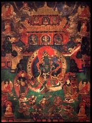 Buddhist Deity: Tara, Sandalwood Forest