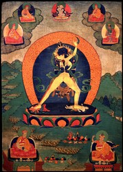 Kalachakra (Buddhist Deity): Sahaja (1 face, 2 hands)