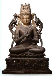 Vairochana Buddha: (Sambhogakaya Ornaments)