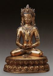 Amitabha/Amitayus Buddha: Amitayus (Sambhogakaya)