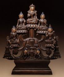 Shakyamuni Buddha: (peaceful appearance)