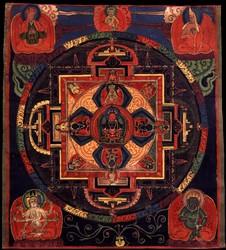 Amitabha/Amitayus Buddha: (Sarvadurgati Tantra, Speech)