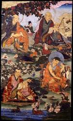 Arhat/Sthavira (Buddhist Elder): 16 Elders: Ajita