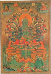 Vajravidarana (Buddhist Deity): Green