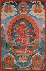 Kurukulla (Buddhist Deity): Four Armed