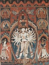 Avalokiteshvara (Bodhisattva & Buddhist Deity): (11 faces, 22 hands)