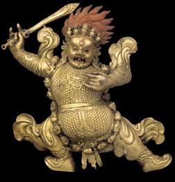 Begtse Chen (Buddhist Protector) (Himalayan Art)