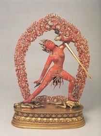 Buddhist Deity: Vajrayogini, Khechara (Naropa Tradition)