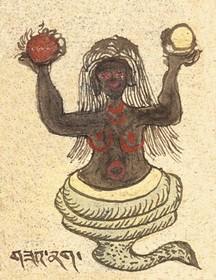 Subject: Tibetan Worldly Spirits, Sprites & Ogres