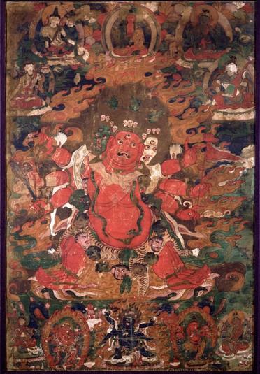 hayagriva  buddhist deity   himalayan art
