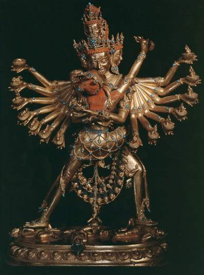 hevajra  buddhist deity   himalayan art