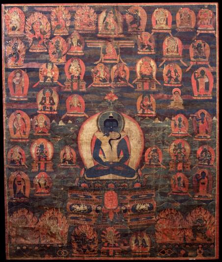 Subject: Guhyagarbha Tantra (Peaceful & Wrathful Deities)
