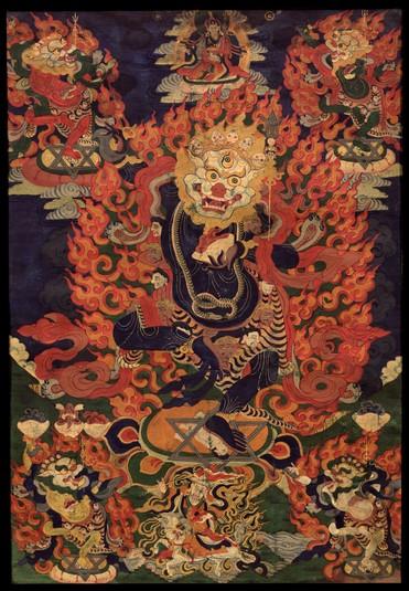 Simhamukha Buddhist Deity 5 Deity Himalayan Art