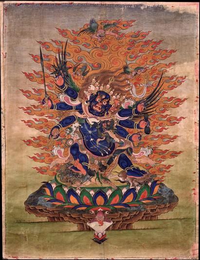О трёх формах Ямараджи и тантрах Ваджрабхайравы, Кришна и Ракта Ямари:  nandzed — LiveJournal