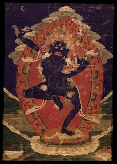 Vajrayogini (Buddhist Deity) - Krodha Kali (Wrathful Black