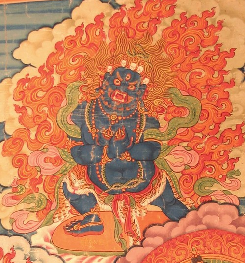 Humkara (Buddhist Deity) - (Two Arms) (Himalayan Art)