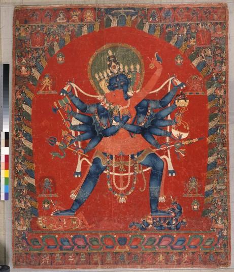 Chakrasamvara (Buddhist Deity) (Himalayan Art)